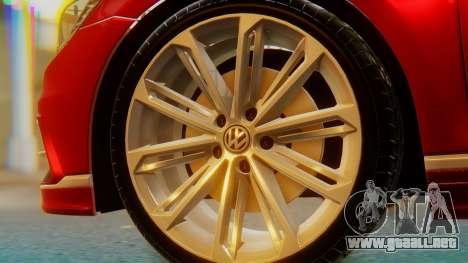 Volkswagen Passat Variant R-Line para GTA San Andreas vista posterior izquierda