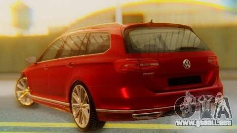Volkswagen Passat Variant R-Line para GTA San Andreas left