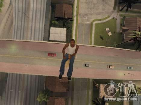 Escoba para GTA San Andreas tercera pantalla