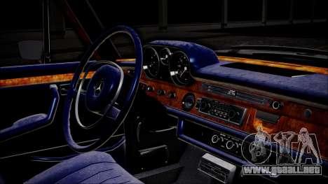 Mercedes-Benz 300 SEL 6.3 para la visión correcta GTA San Andreas