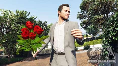 GTA 5 Un ramo de rosas segunda captura de pantalla