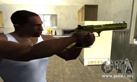 Sponge Bob Deagle para GTA San Andreas segunda pantalla