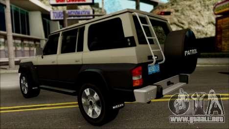 Nissan Patrol Y60 para la visión correcta GTA San Andreas