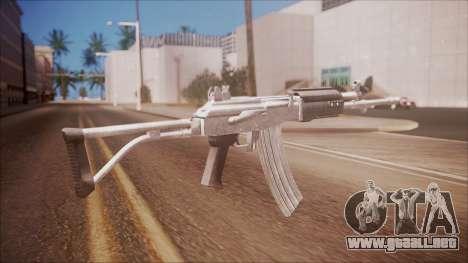 Galil AR v2 from Battlefield Hardline para GTA San Andreas segunda pantalla