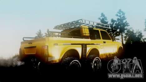 VAZ 2121 Niva 6x6 para GTA San Andreas left