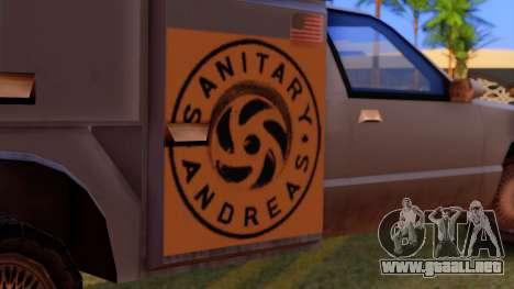 Premier Utility Van para la visión correcta GTA San Andreas