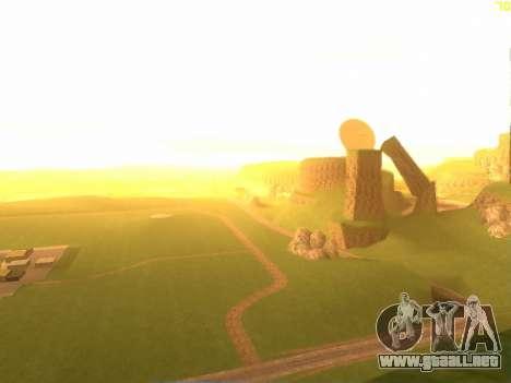 Verde del desierto de Las Venturas v2.0 para GTA San Andreas segunda pantalla