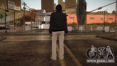 Skin from GTA 5 para GTA San Andreas tercera pantalla