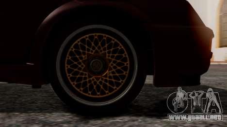 Ford Sierra RS500A para GTA San Andreas vista posterior izquierda