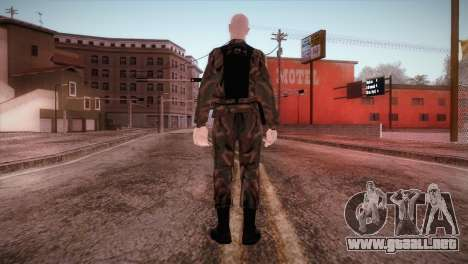 Shaved Soldier para GTA San Andreas tercera pantalla