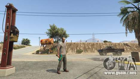 GTA 5 Diamond Pickaxe V v1.0