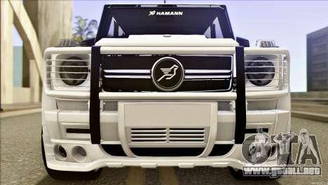 Mercedes-Benz G65 Hamann 2013 para GTA San Andreas left