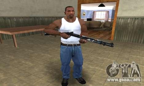 Sportive Shotgun para GTA San Andreas segunda pantalla