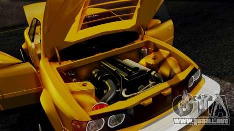 Toyota Chaser para la visión correcta GTA San Andreas