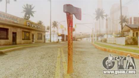 GTA 5 Hatchet v2 para GTA San Andreas segunda pantalla