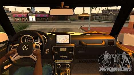 Mercedes-Benz G500 4x4 para la visión correcta GTA San Andreas