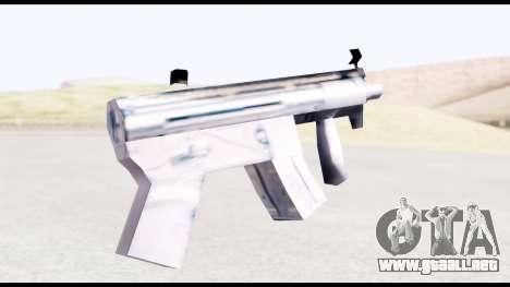MP5-K from GTA Vice City para GTA San Andreas segunda pantalla