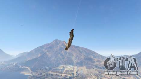 GTA 5 Superhero cuarto captura de pantalla