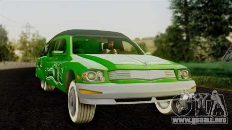 Hounfor from Saints Row 2 para GTA San Andreas