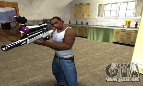 Bitten Sniper Rifle para GTA San Andreas segunda pantalla