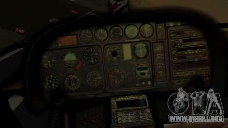 Helicopter National Police of Paraguay para la visión correcta GTA San Andreas
