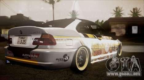 BMW 325t E46 LCI SAO Itasha para GTA San Andreas left