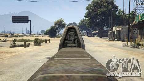 GTA 5 Halo UNSC: Assault Rifle noveno captura de pantalla