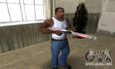 Stone Shotgun para GTA San Andreas tercera pantalla