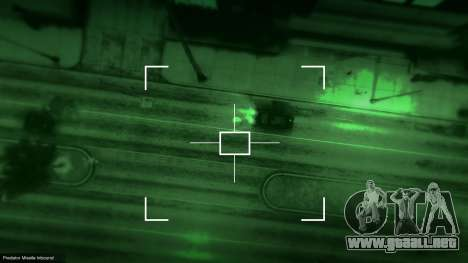 GTA 5 MW2 Predator Missile 1.1 tercera captura de pantalla
