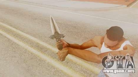 Dragon Dagger para GTA San Andreas tercera pantalla