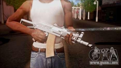 AKC-47У de Battlefield Hardline para GTA San Andreas tercera pantalla