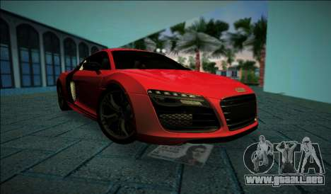 Audi R8 V10 Plus 2014 para GTA Vice City