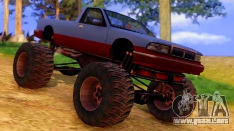 Premier Monster para la visión correcta GTA San Andreas