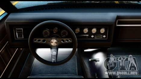 GTA 5 Vapid Chino Stock para GTA San Andreas vista posterior izquierda
