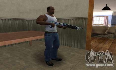 Limeyond Combat Shotgun para GTA San Andreas tercera pantalla