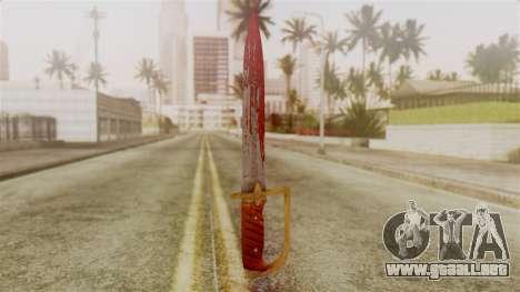 GTA 5 Antique Cavalry Dagger v2 para GTA San Andreas segunda pantalla