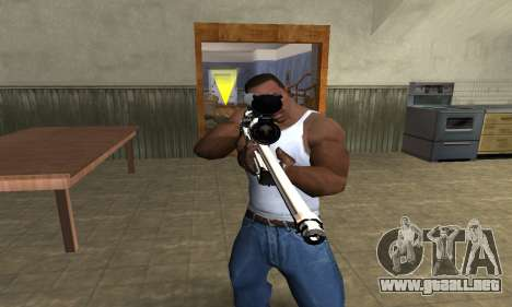 Gold Dragon Sniper Rifle para GTA San Andreas segunda pantalla