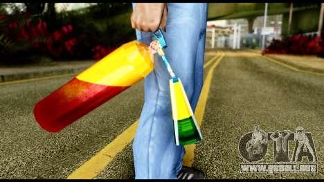 Brasileiro Fire Extinguisher para GTA San Andreas tercera pantalla