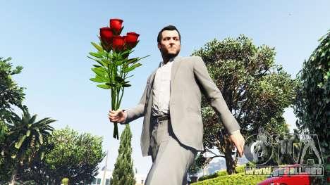 GTA 5 Un ramo de rosas
