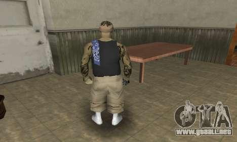 Rifa Skin Third para GTA San Andreas quinta pantalla