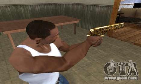 Microshem Deagle para GTA San Andreas segunda pantalla