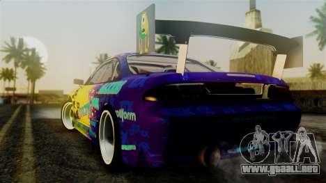 Nissan Silvia S14 Kouki Matt Faileds para GTA San Andreas left