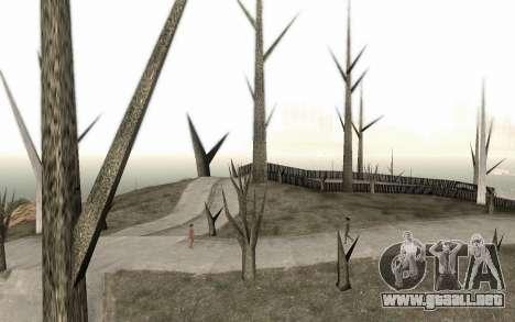 Los árboles sin hojas para GTA San Andreas
