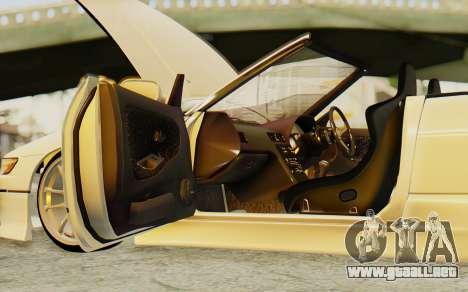 Nissan Silvia S13 para visión interna GTA San Andreas