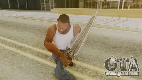 Steel Dagger para GTA San Andreas tercera pantalla