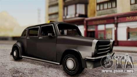London Cab para GTA San Andreas