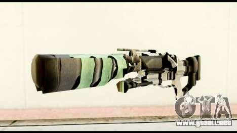 Rocket Launcher from Crysis 2 para GTA San Andreas