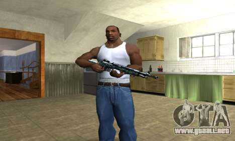 Green Forest Rifle para GTA San Andreas tercera pantalla