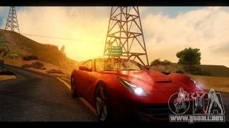 MAC_True ENB [el 0,248] para GTA San Andreas octavo de pantalla
