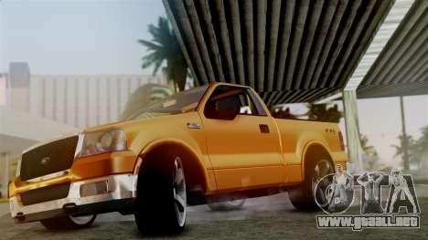 Ford F-150 Sport para la visión correcta GTA San Andreas